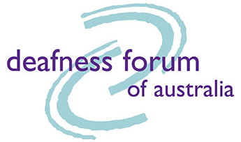 Deafness Forum of Australia - Home page